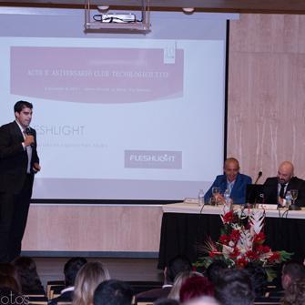Acto X Aniversario Club Tecnológico Tixe. Participación de empresas ponentes.