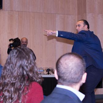 Acto X Aniversario Club Tecnológico Tixe. Participación Ahumor. Diciembre 2013.