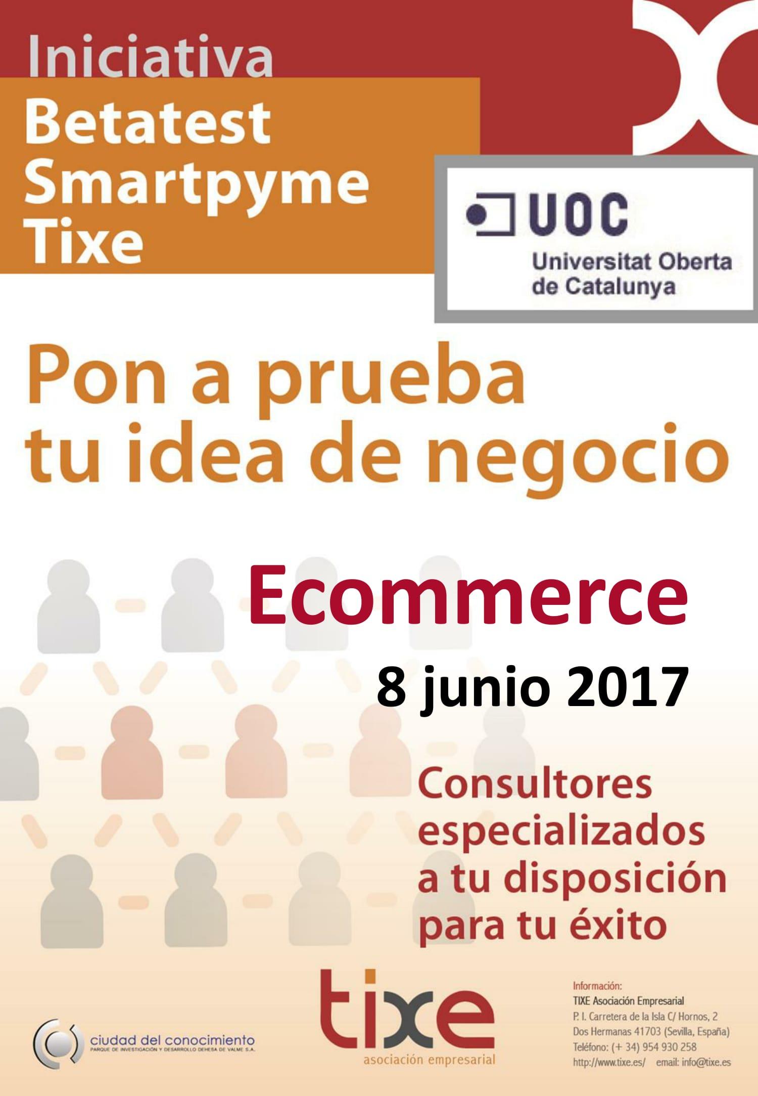 Betatest SmartPyme Tixe. Ecommerce