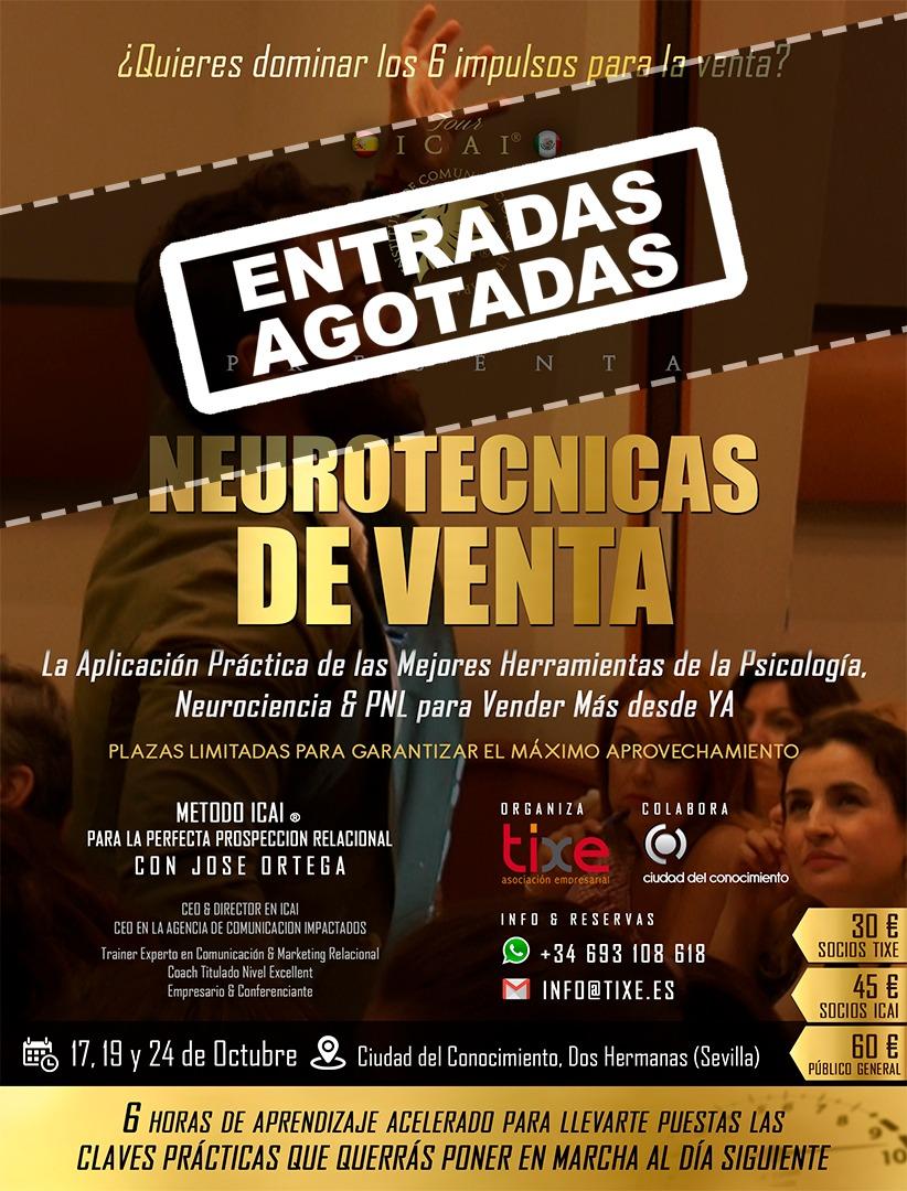 """Training Formativo """"Neurotécnicas de Venta"""". 1ª Edición"""
