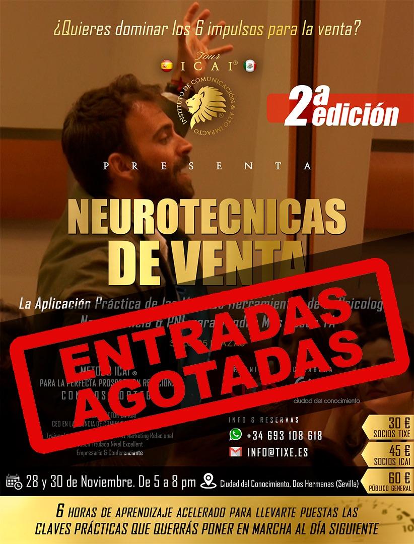 """Training Formativo """"Neurotécnicas de Venta"""". 2ª Edición"""