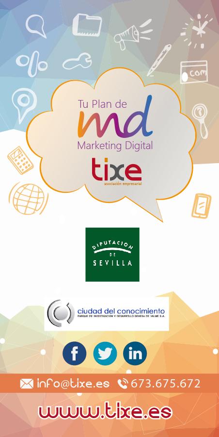 """Jornada de Presentación """"Tu Plan de Marketing Digital"""""""